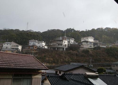 17日雪かな