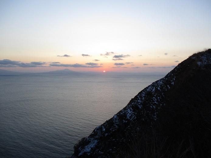 日の入り(室蘭地球岬)1912301601