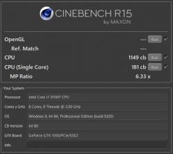 Core i7-9700T_CINEBENCH R15_CPU_01s