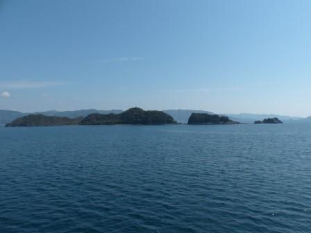 フェリーからの眺め 4 佐島