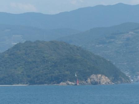 フェリーからの眺め 3 諏訪崎
