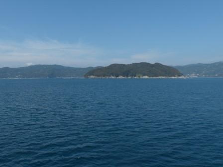 フェリーからの眺め 5 黒島