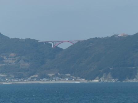 フェリーからの眺め 7 堀切大橋
