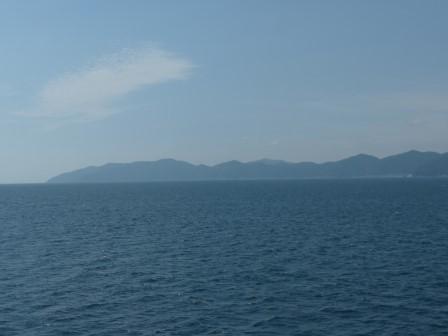 フェリーからの眺め 10 佐田岬半島