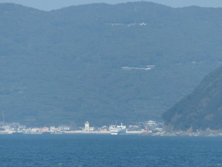 フェリーからの眺め 11 三崎港