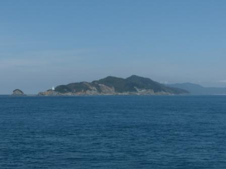 フェリーからの眺め 5 佐田岬灯台