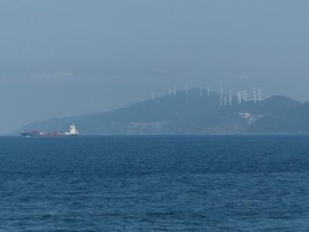 フェリーからの眺め 6 佐田岬