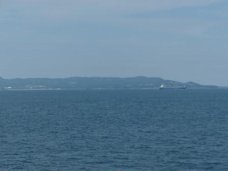フェリーからの眺め 8 国東半島
