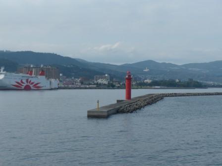 フェリーからの眺め 10 別府港付近