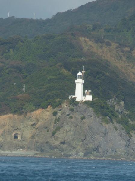 フェリーからの眺め 3 佐田岬灯台