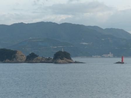 フェリーからの眺め 2 諏訪崎