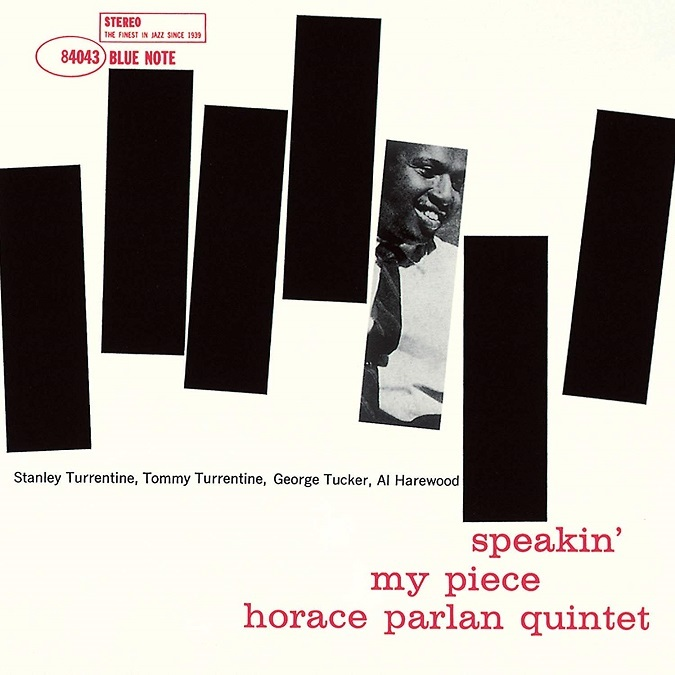 Horace Parlan Speakin My Piece Blue Note BST 84043