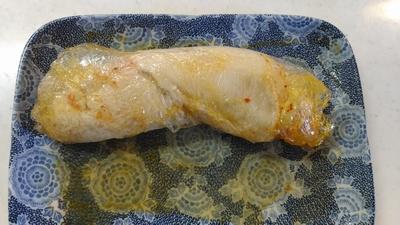 鶏肉のキムチロール4