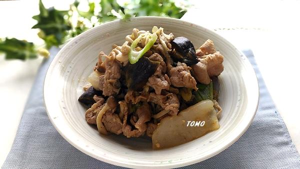 豚肉とこんにゃくの味噌炒め
