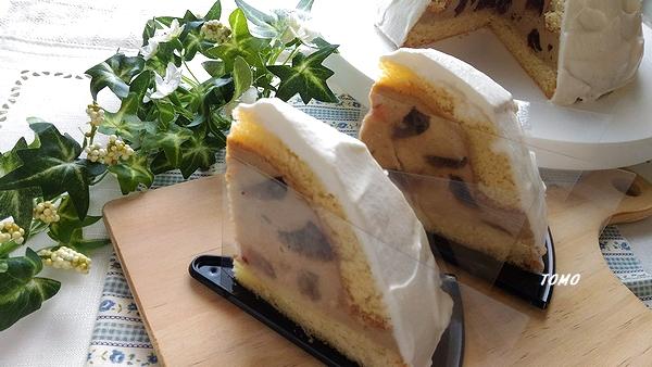クラッシュコーヒームースドームケーキ