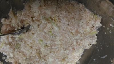 野菜の水餃子鍋1