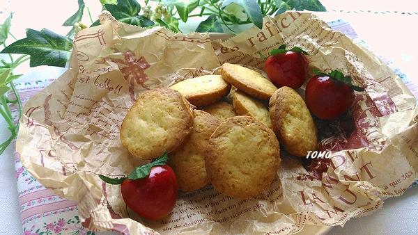 米油でさつま芋のざくざくクッキー