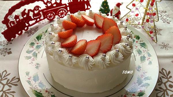 イチゴのケーキクリスマスバージョン