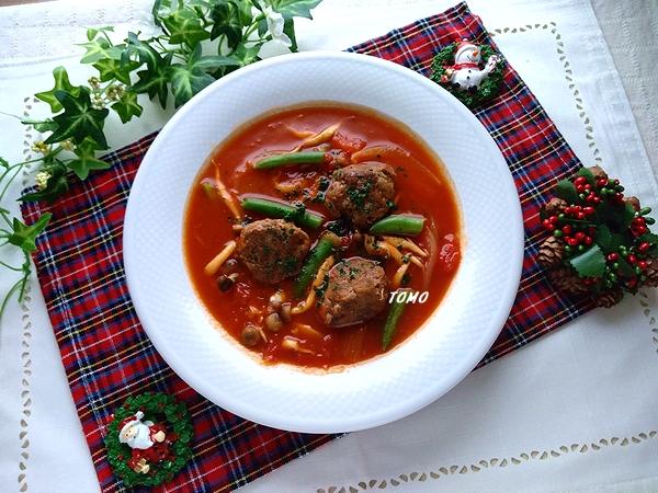 牛切り落とし肉のトマト煮