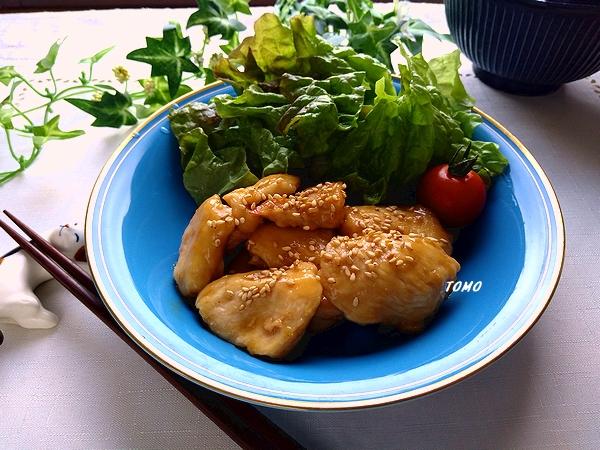 鶏肉のハニージンジャー炒め