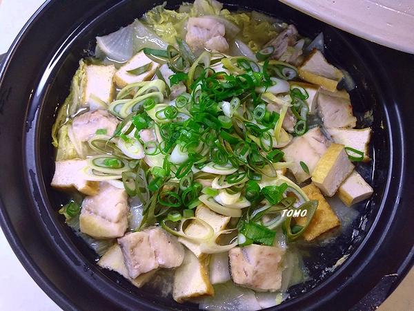 鱈のピリ辛鍋