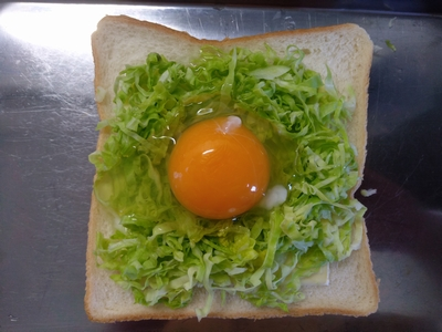 巣ごもりトースト3