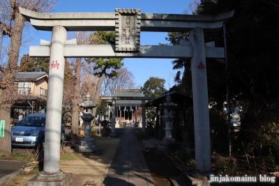 南田中稲荷天祖神社  練馬区南田中5