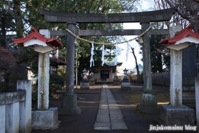 和田堀稲荷神社  練馬区石神井町1