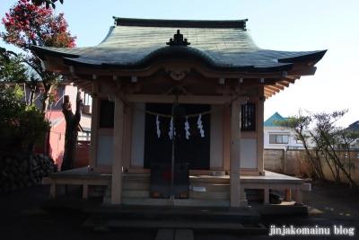 和田堀稲荷神社  練馬区石神井町5