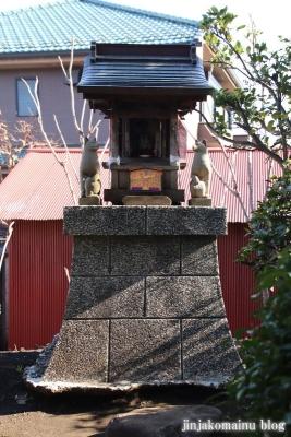 和田堀稲荷神社  練馬区石神井町10
