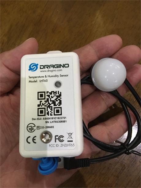 LoRaWAN対応温度・湿度・照度センサ LHT65、まもなくリリース!