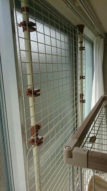 ベランダ:マルカン柵ねむK様宅
