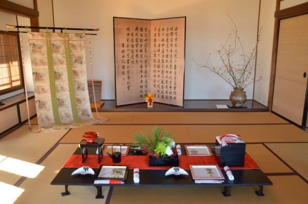 2020-1-9 伊藤博文別邸 お正月1