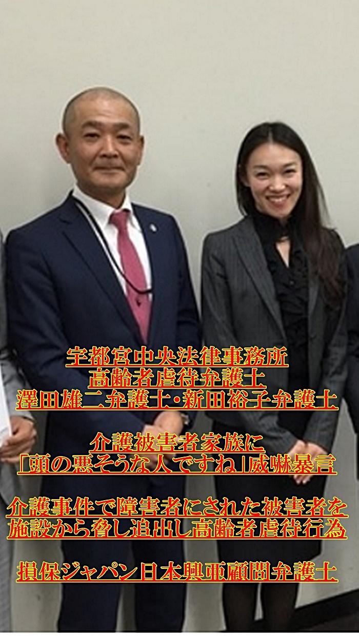 澤田雄二・新田裕子・宇都宮中央法律事務所 高齢者虐待