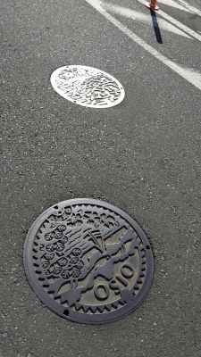 神奈川県大磯マンホール