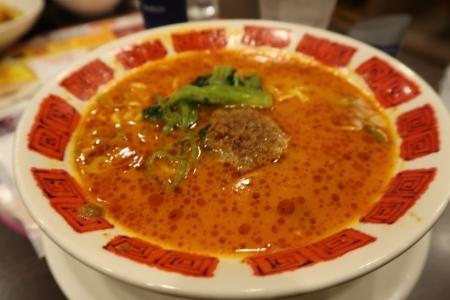 バーミヤンの坦々麺