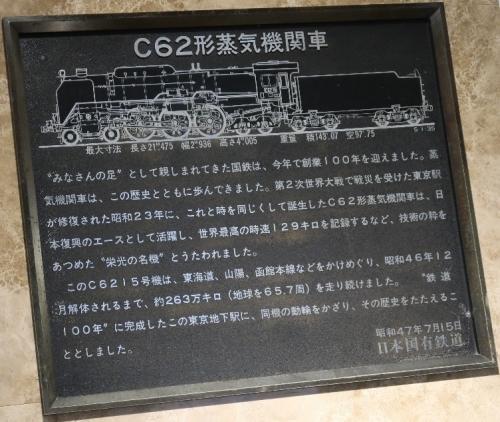 東京駅 C62動輪