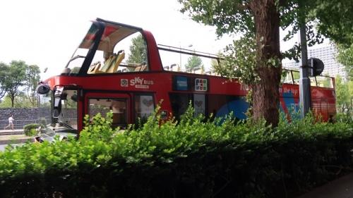 東京観光のバス