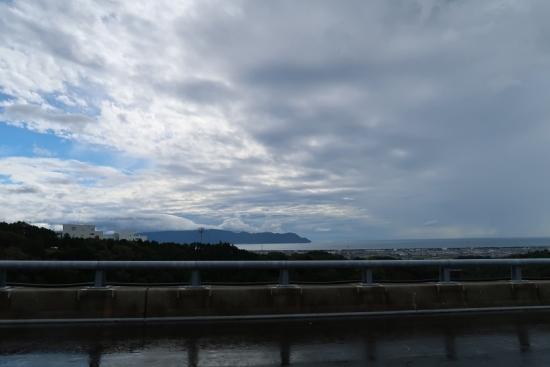 新東名から駿河湾
