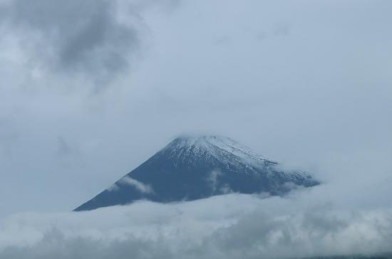令和 即位の礼の日 富士山