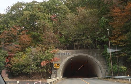 会津西街道 五十里岬トンネル