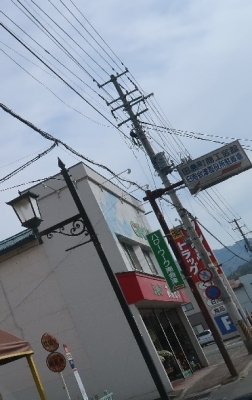 会津 街灯