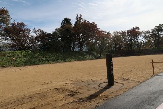 鶴ヶ城 二の丸跡
