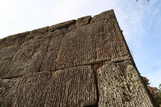 鶴ヶ城 石垣