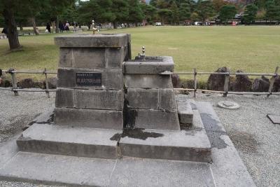 鶴ヶ城水飲み場