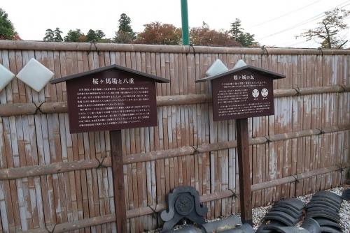 鶴ヶ城(会津若松城)瓦