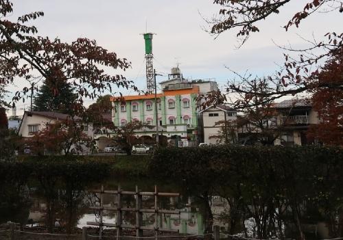 鶴ヶ城(会津若松城)近辺