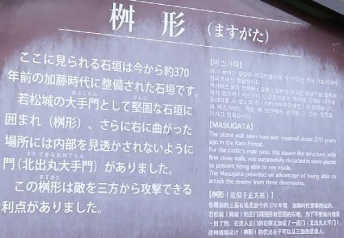 鶴ヶ城(会津若松城)枡形