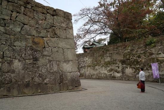 鶴ヶ城(会津若松城)石垣