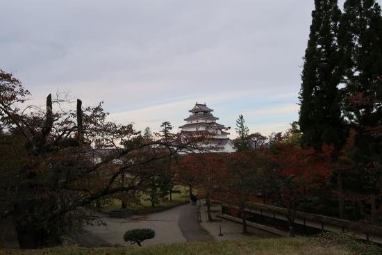 鶴ヶ城(会津若松城)月見櫓から天守